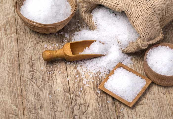 lifehacks met zout
