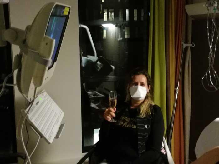 oudjaar in het ziekenhuis