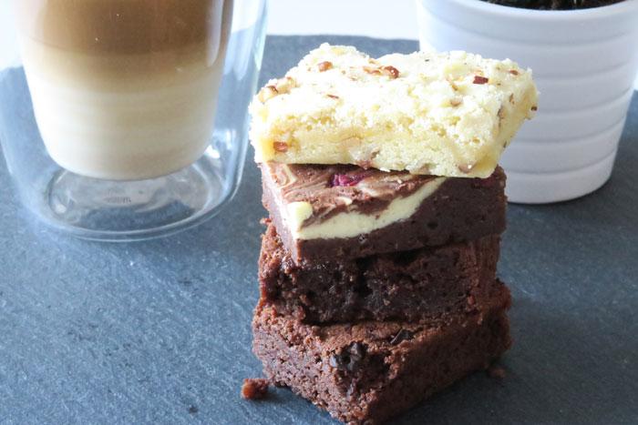 brownies per post bewaren