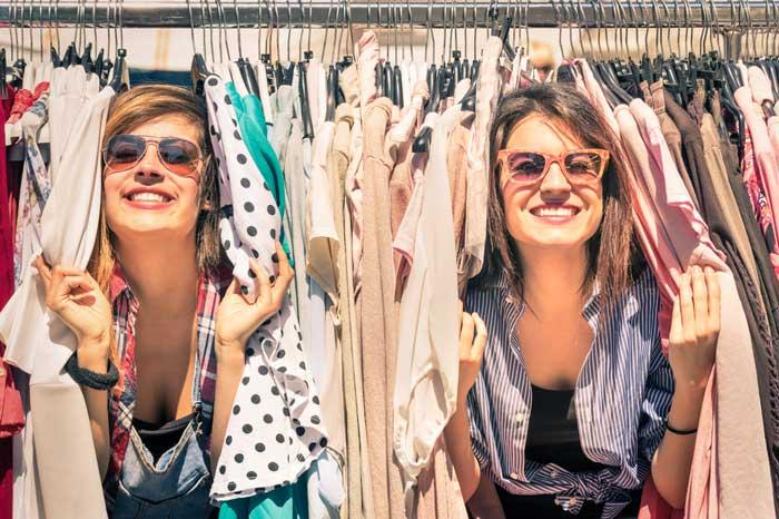 geen kleding kopen, kledingruil
