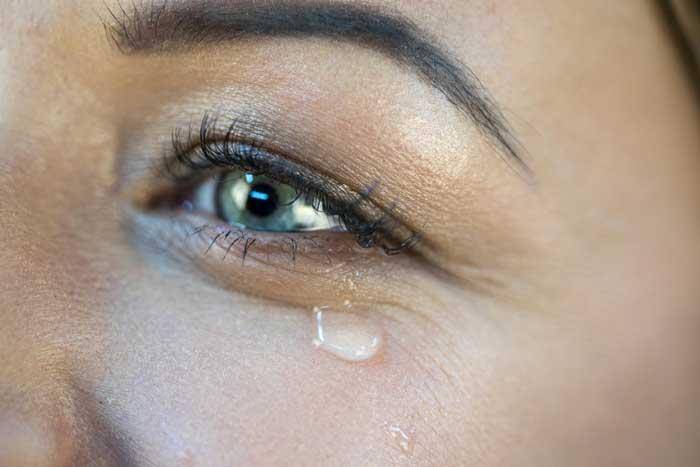 tranende ogen