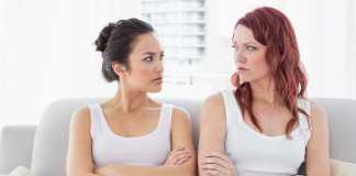 vrouwen onderling