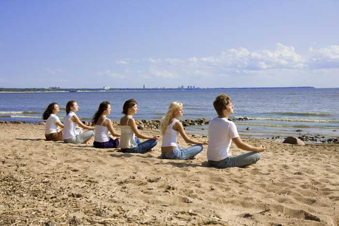 yoga weekend in zeeland