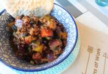 chili con carne slowcooker