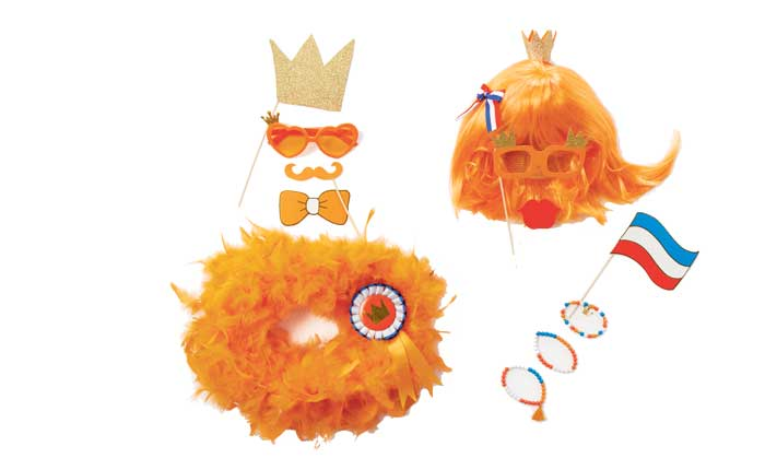 koningsdag oranje accessoires