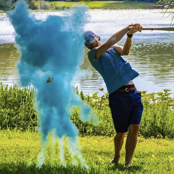gender reveal golfbal