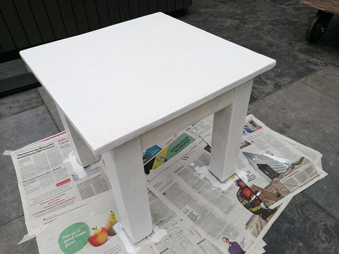 tafeltje schilderen
