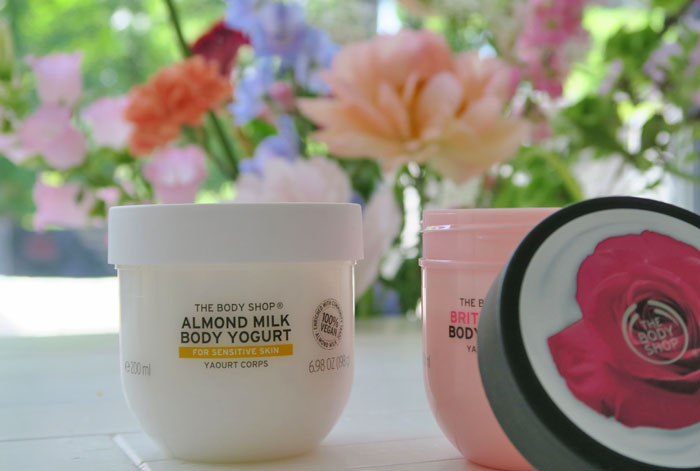 body yogurt, the body shop