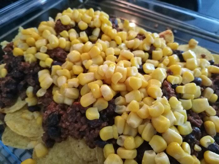 nachos maken met mais