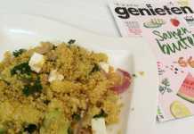 quinoa salade met asperges
