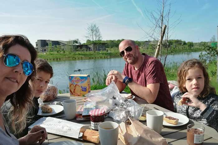 village nature paris buiten ontbijten