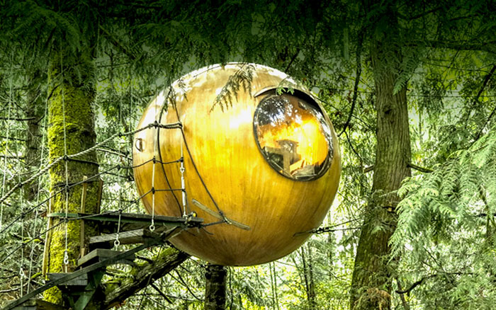 sphere glamping canada