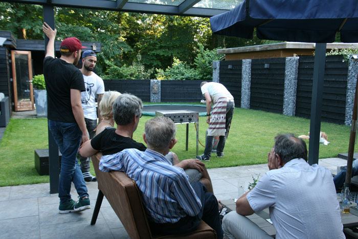 familie barbeque