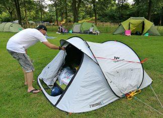 fresh and black tent decathlon