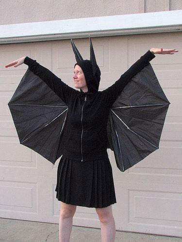 halloween vleermuisvleugels maken