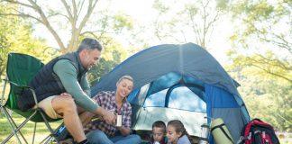 kamperen met de tent