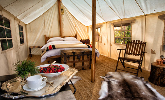 outpost tent glamping toronto