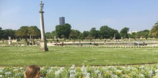 park du luxembourg in parijs