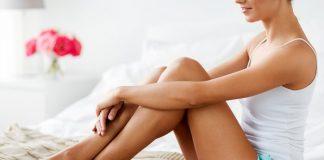 bruine benen zonder zon