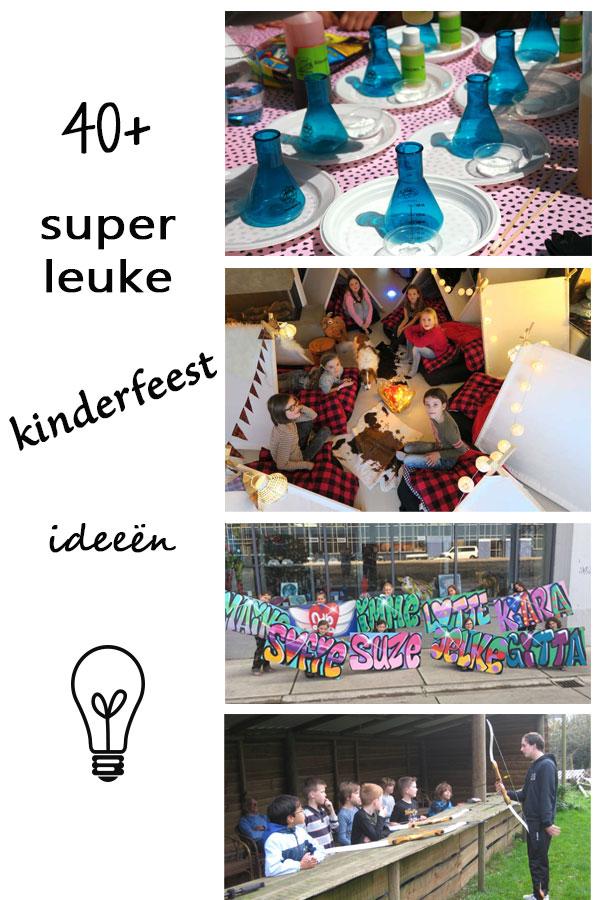 kinderfeest ideeën