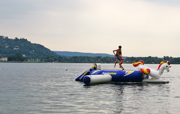 lago maggiore meer zwemmen
