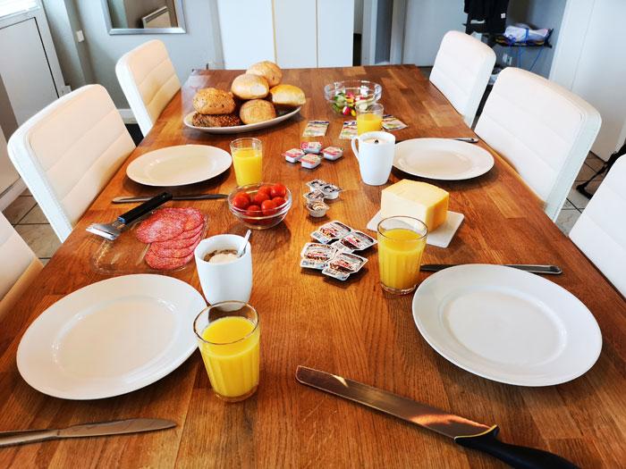 landal seawest ontbijt