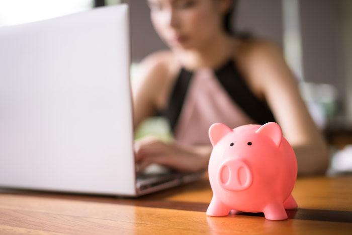 geld besparen online
