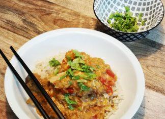 groene curry slowcooker