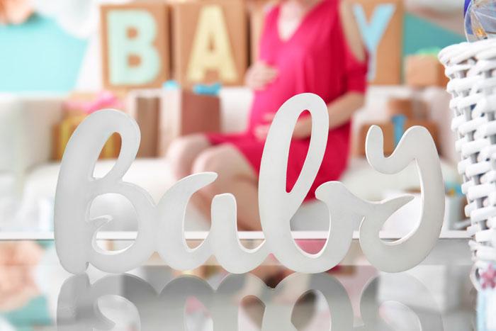 organiseren babyshower