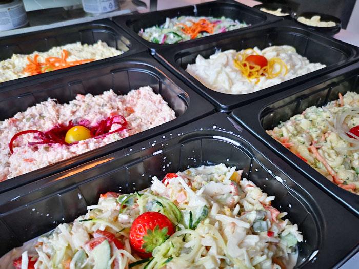 salades de buffetten boer