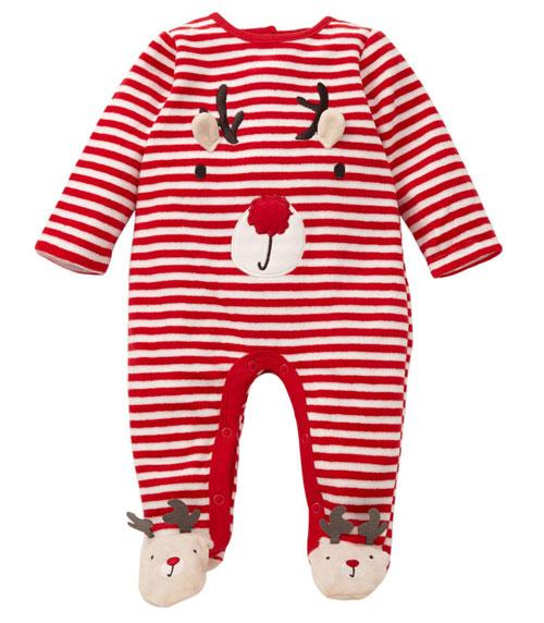 eerste kerst romper baby