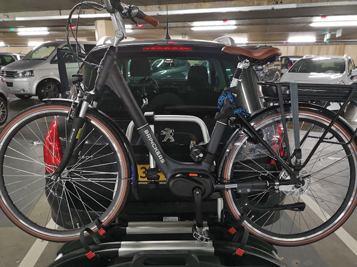 elektrische fiets fietsendrager