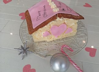 Hartenhuis taart