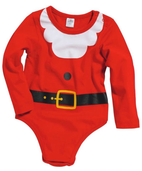 kerst romper baby