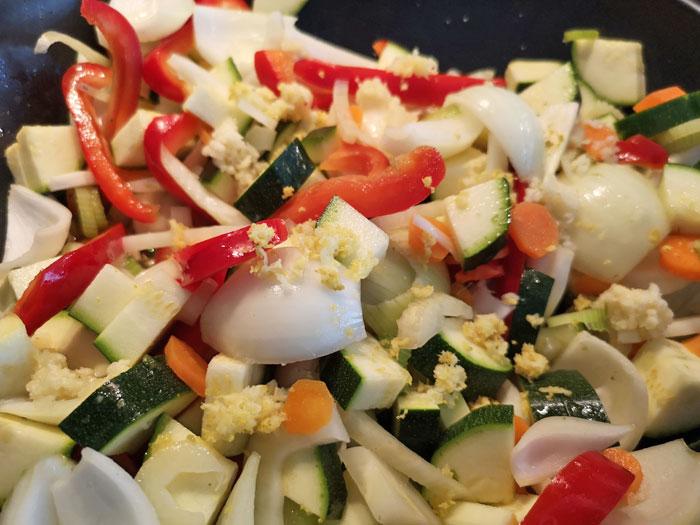 maken groentetajine