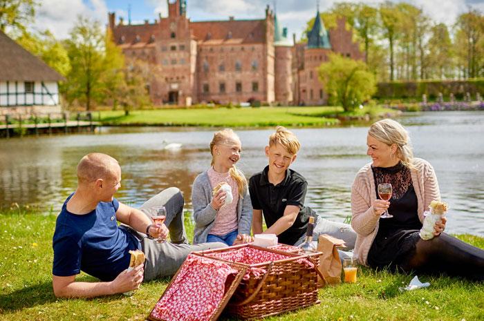Egeskov Slot Zuid-Denemarken