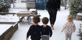 kneipp methode en sneeuw trappelen