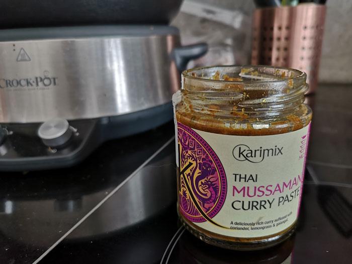 bloemkool curry pasta van karimix