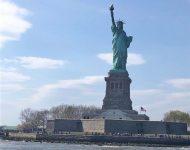 new york met kinderen, bezoek vrijheidsbeeld