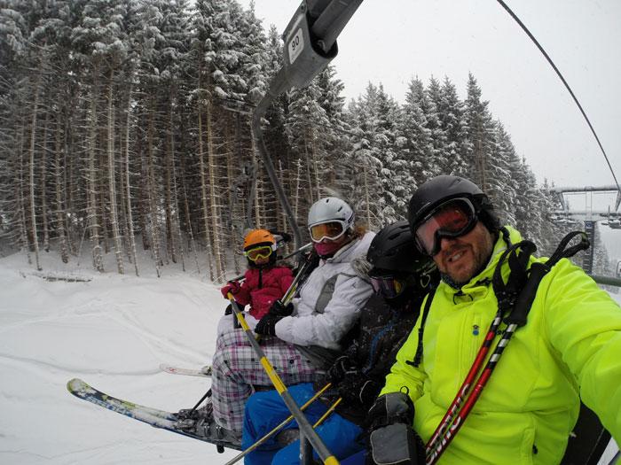 wintersport paklijst kleding