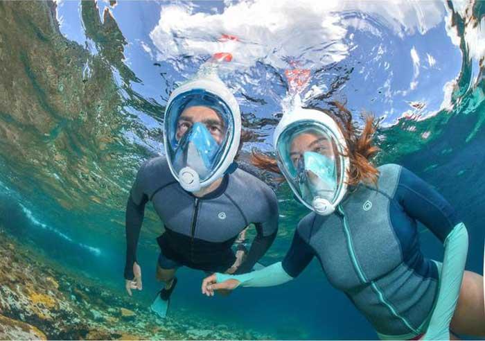 easybreath snorkelmasker, ideaal om te snorkelen