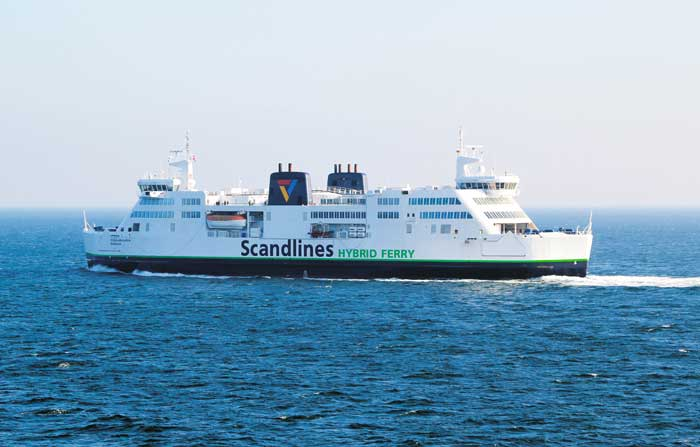 Ferry Oost Denemarken, Lolland