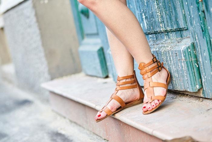Sandalen outfit
