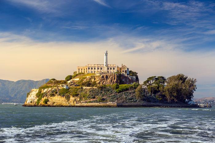 mooiste plekken van Amerika, Alcatraz Island