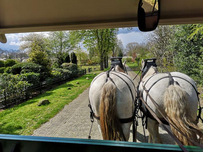 bartjes deux chevaux, het land van bartje