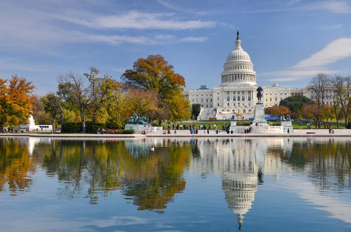 Washington DC een must see als je in Amerika bent, een van de mooiste plekken