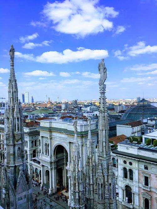 duomo milaan uitzicht terrassen