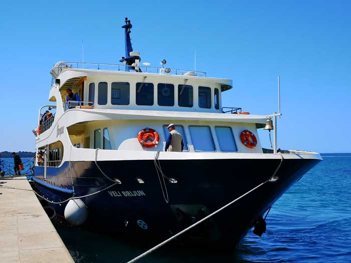 Brijuni ferry