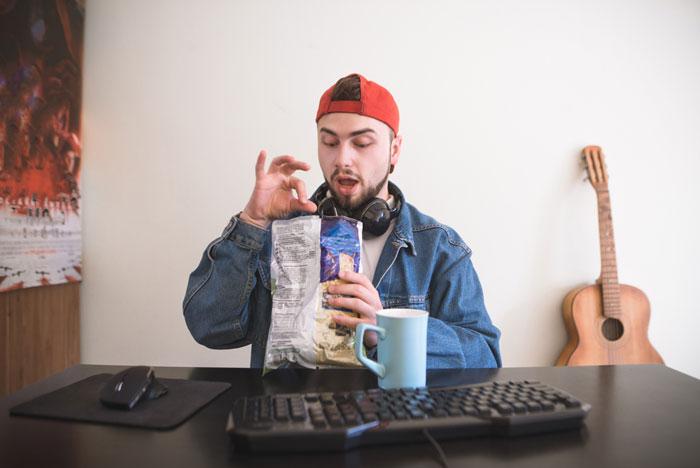 junk food en opgroeiende jeugd
