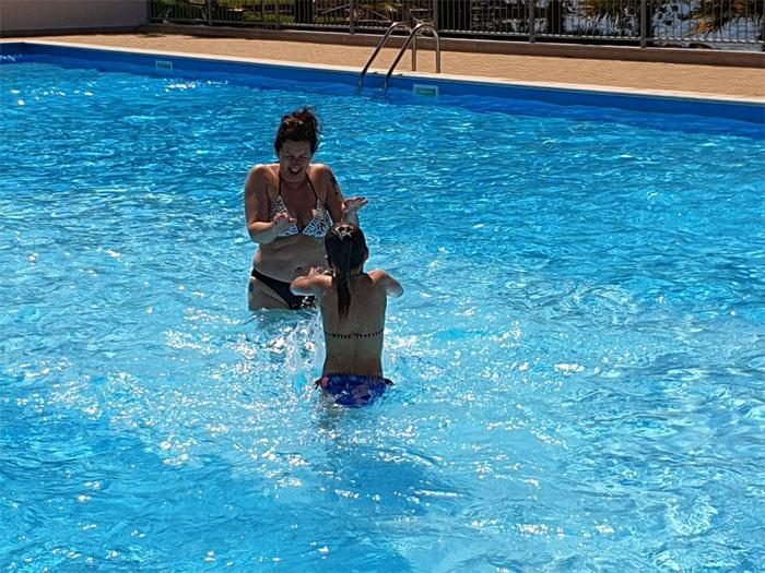 kroatie camping zwembad